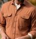 Canclini Hickory Herringbone Beacon Flannel Shirt Thumbnail 4