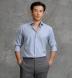 Reda Sky Basketweave Merino Wool Shirt Thumbnail 2