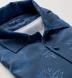 Albini Blue Large Pineapple Print Tencel Shirt Thumbnail 2