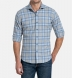 Canclini Grey and Slate Plaid Beacon Flannel Shirt Thumbnail 3