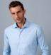Non-Iron Supima Light Blue Multi Gingham Shirt Thumbnail 3