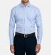 Non-Iron Supima Light Blue Multi Gingham Shirt Thumbnail 2