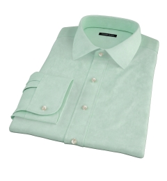 Green Heavy Oxford Dress Shirt