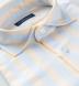 Amalfi Light Blue and Yellow Pique Stripe Shirt Thumbnail 2