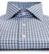 Slate Blue Lorimer Check Shirt Thumbnail 2