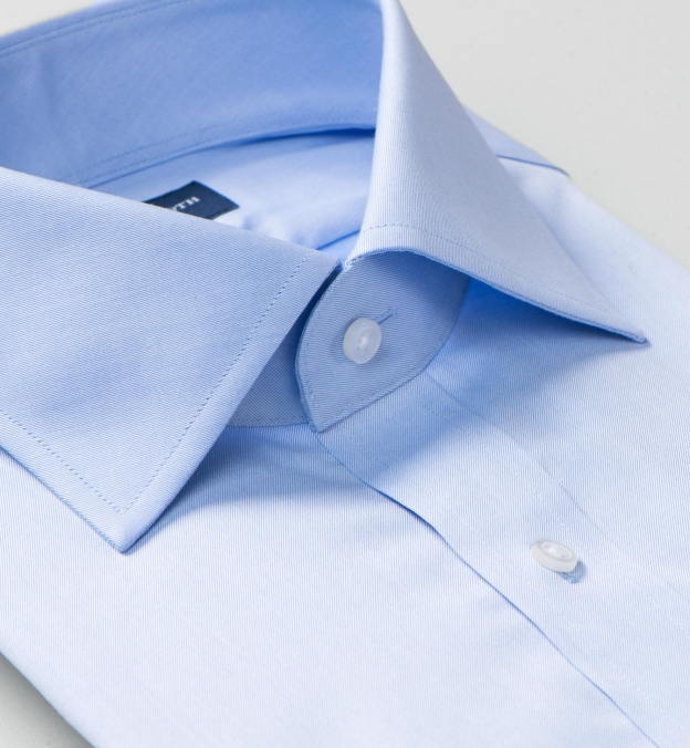 Hudson Wrinkle-Resistant Blue Twill