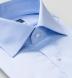 Hudson Wrinkle-Resistant Blue Twill Shirt Thumbnail 2