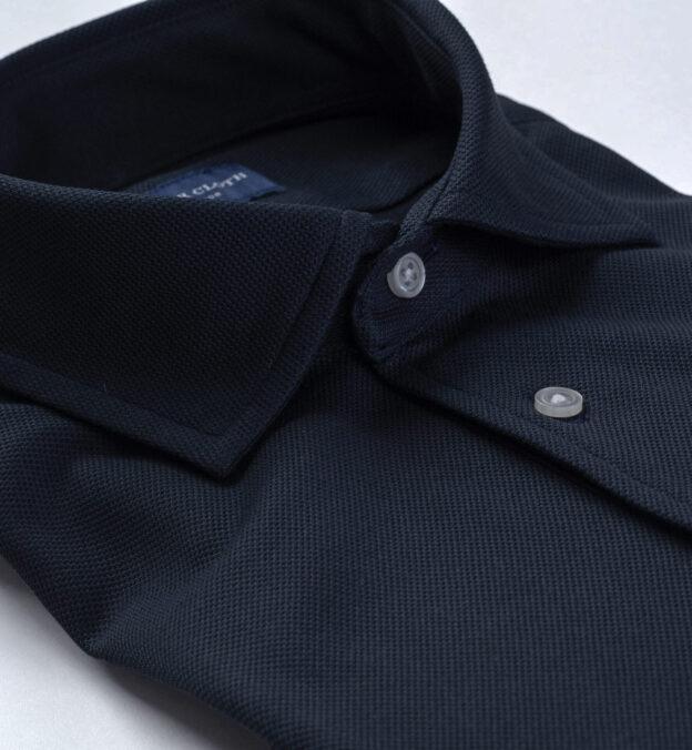 Sullivan Navy Blue Easy Care Polo