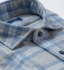 Canclini Grey and Slate Plaid Beacon Flannel Shirt Thumbnail 2