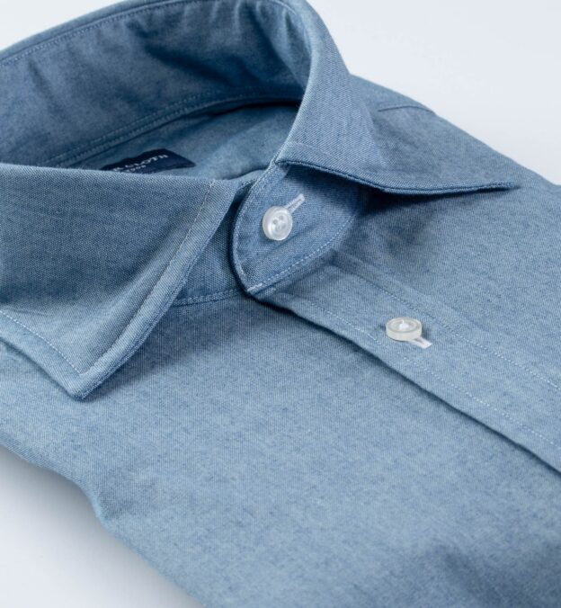 Blue Indigo Chambray