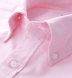 Canclini Light Pink Heavy Oxford Button Down Shirt Thumbnail 2