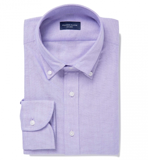 Canclini Lilac Heavy Oxford