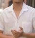 Japanese White Wide Seersucker Shirt Thumbnail 4