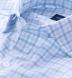 Thomas Mason Turquoise Multi Check Shirt Thumbnail 2