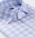 Non-Iron Stretch Lavender and Blue Check Shirt Thumbnail 2