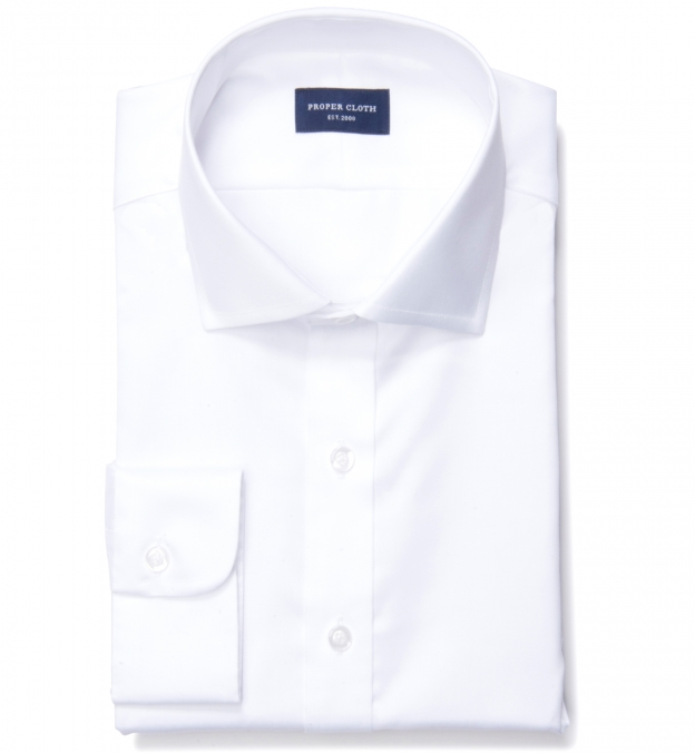 White Extra Wrinkle-Resistant Twill