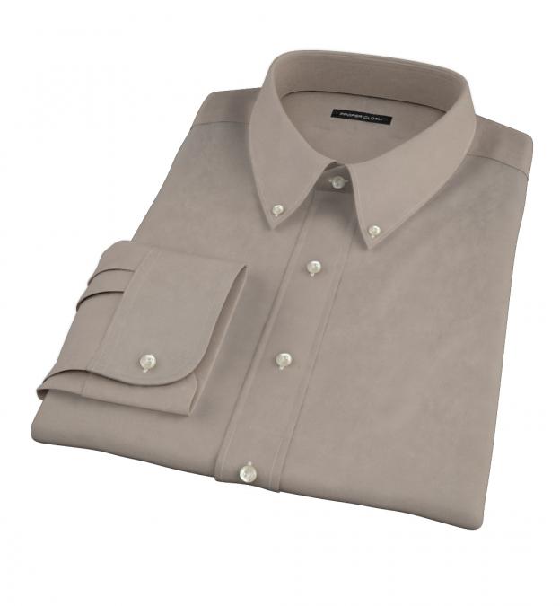 Olive Chino Custom Dress Shirt