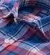 Japanese Blue and Red Summer Plaid Shirt Thumbnail 2