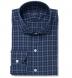 Vincent Blue and White Plaid Shirt Thumbnail 1