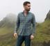 Satoyama Sage and Slate Plaid Flannel Shirt Thumbnail 3