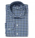 Albiate Pine and Navy Small Plaid Shirt Thumbnail 1