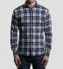Canclini Slate Plaid Beacon Flannel Shirt Thumbnail 3