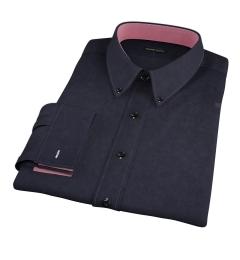 Wythe Black Oxford Dress Shirt