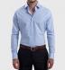 Fulton 120s Blue Glen Plaid Shirt Thumbnail 3
