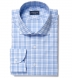 Varick Light Blue Multi Check Shirt Thumbnail 1