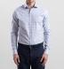 Thomas Mason Blue and Grey Multi Check Shirt Thumbnail 3