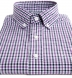 Purple and Navy Gingham Button Down Shirt Thumbnail 2