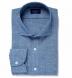Japanese Light Indigo Slub Chambray Popover Shirt Thumbnail 1
