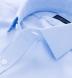 Mayfair Wrinkle-Resistant Light Blue Houndstooth Shirt Thumbnail 2