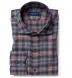 Satoyama Pink and Slate Plaid Flannel Shirt Thumbnail 1