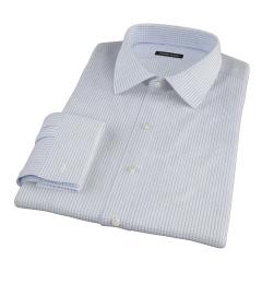 Mercer Blue Medium Grid Custom Made Shirt