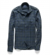 Portuguese Faded Black Watch Plaid Flannel Shirt Thumbnail 2