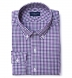 Purple and Navy Gingham Button Down Shirt Thumbnail 1