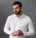 Greenwich White Twill Shirt Thumbnail 3
