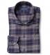 Whistler Navy Grey and Crimson Plaid Flannel Shirt Thumbnail 1