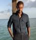 Baird McNutt Navy Irish Linen Shirt Thumbnail 2
