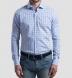 Varick Light Blue Multi Check Shirt Thumbnail 3