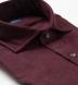 Canclini Burgundy Birdseye Beacon Flannel Shirt Thumbnail 2