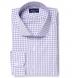 Thomas Mason Lavender Grid Shirt Thumbnail 1
