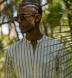Beige and White Southwest Jacquard Stripe Shirt Thumbnail 3