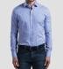 Charles Light Blue Multi Gingham Shirt Thumbnail 3