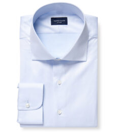 DJA Sea Island Blue Royal Twill Fitted Shirt