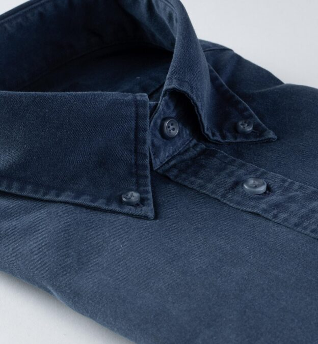 Albiate Washed Dark Slate Blue 60s Denim