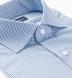 Reda Light Blue Gingham Merino Wool Shirt Thumbnail 2