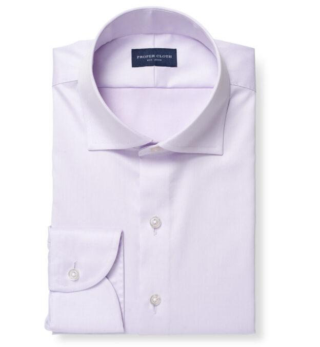 Hudson Wrinkle-Resistant Lavender Twill