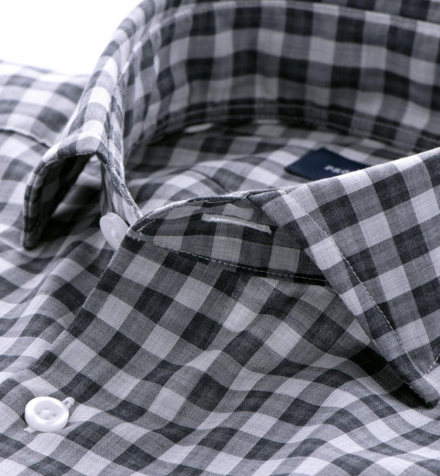 Albiate Light Grey Melange Plaid